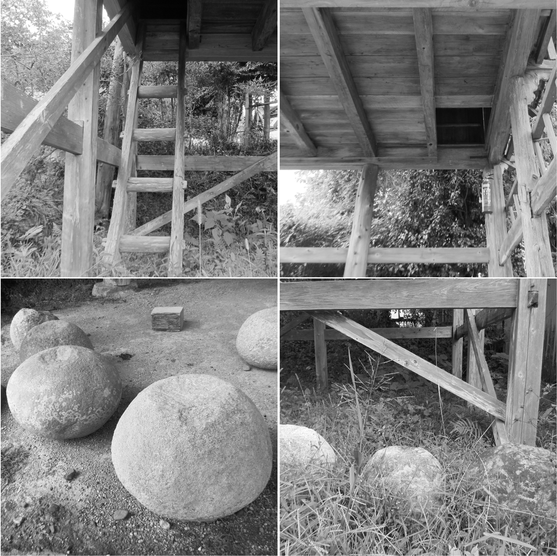 泊り屋の構造
