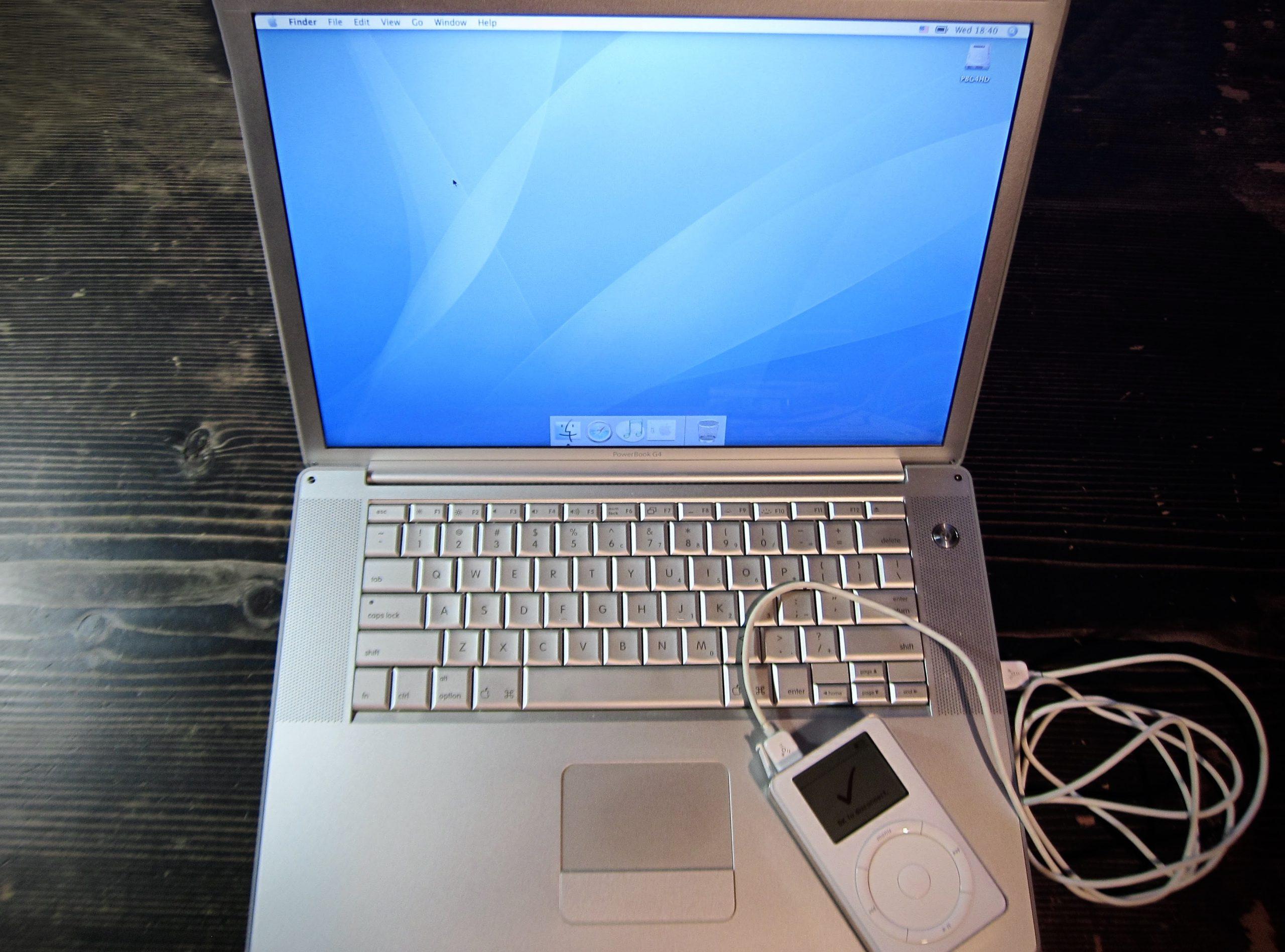 PowerPCを搭載したMac PowerBook